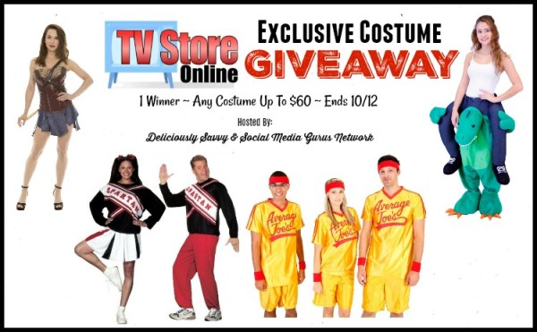 Enter and you could #WIN any costume worth up to $60 fromTV Store Online when this #SMGN Gift Guide #Giveaway ends 10/12