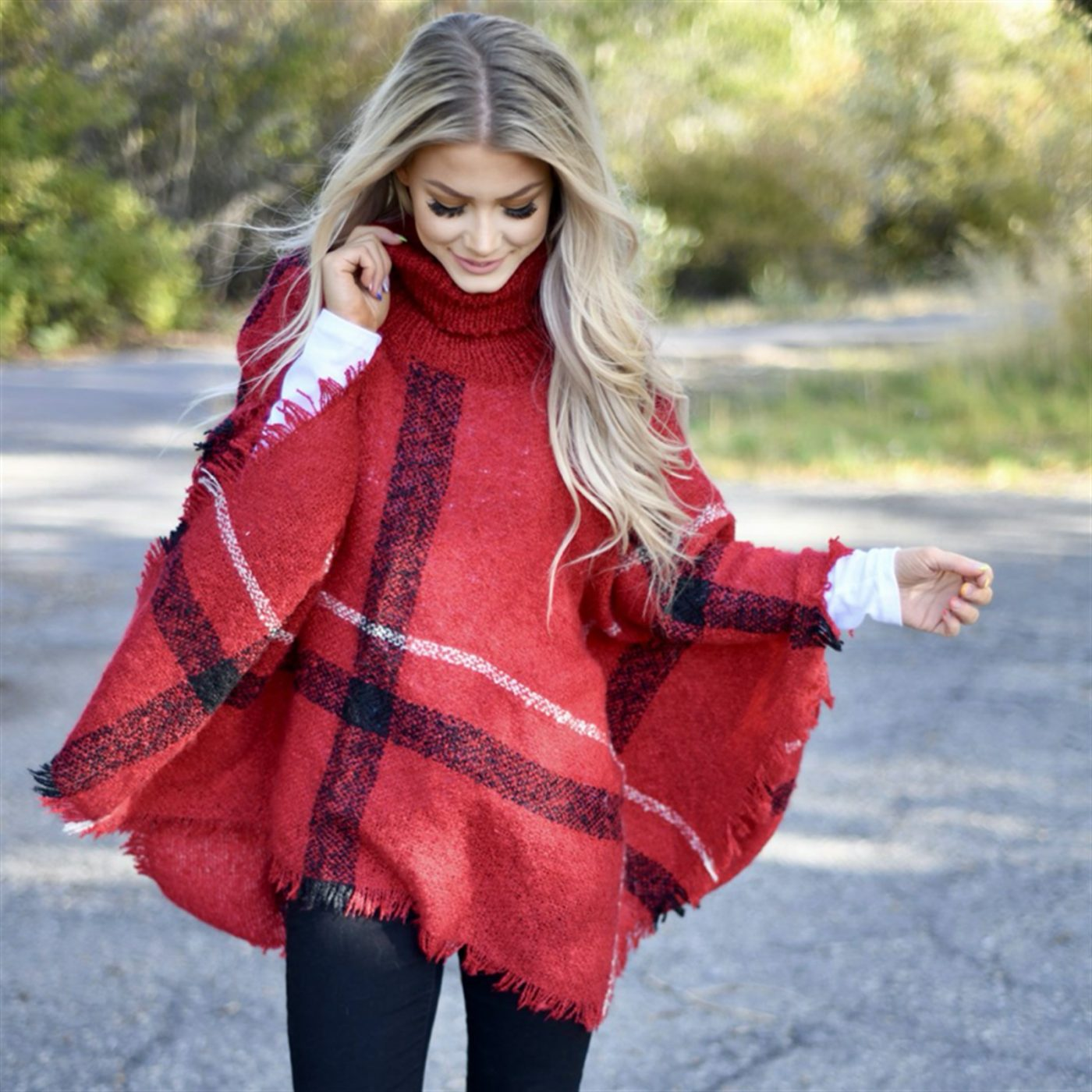 Was $64.99 - Now $32.99 - The Favorite Turtle Neck Poncho (10/15 to 10/17)
