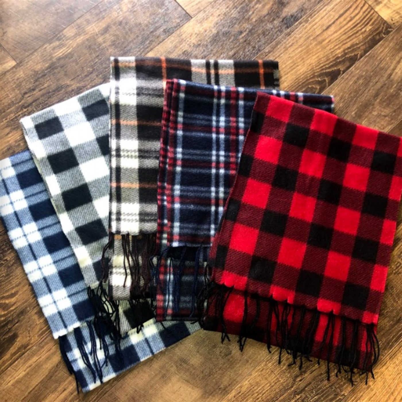 Was $19.99 - Now $9.99 - Fleece Winter Scarfs | Free Shipping (10/16 to 10/18)