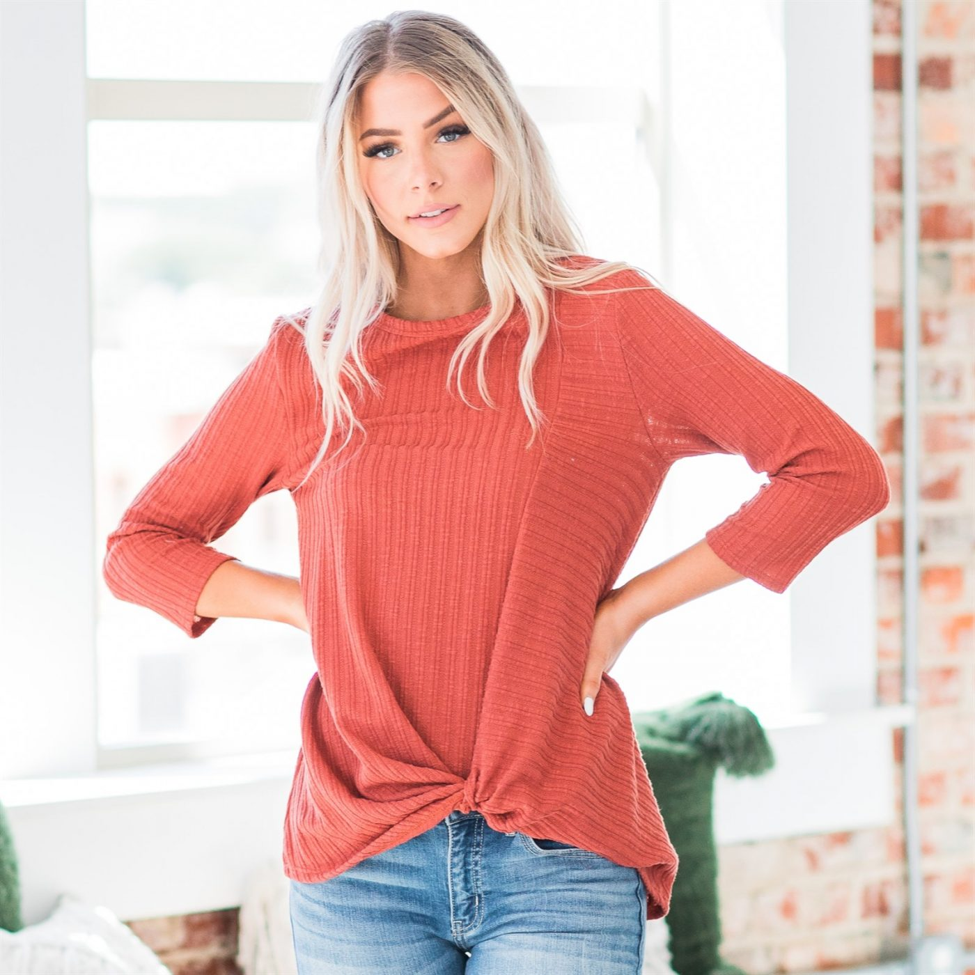 Was $44.99 - Now $23.99 - Jayleen Knot Top | Free Shipping (10/15 to 10/17)