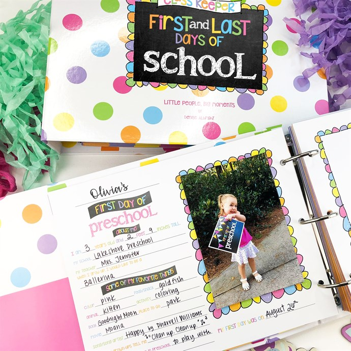 Was $49.95 - Now $34.95 - School Days Memory Book | Class Keeper | Free Shipping (10/12 to 10/14)