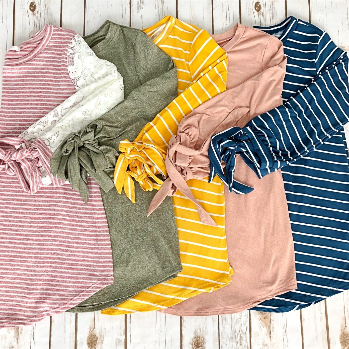 Was $45.99 - Now $14.99 - Tied Tunic Collection | Free Shipping (10/12 to 10/14)