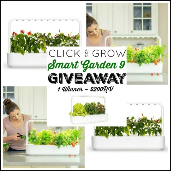 🎄 Enter and you could #WIN a Click & Grow Smart Garden 9 worth $200 when this #SMGN Holiday Gift 🎁 Guide #Giveaway ends 12/13. @SMGurusNetwork @ClickandGrow