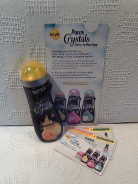 Enter to Win NEW Purex Crystals Aromatherapy Review and Giveaway