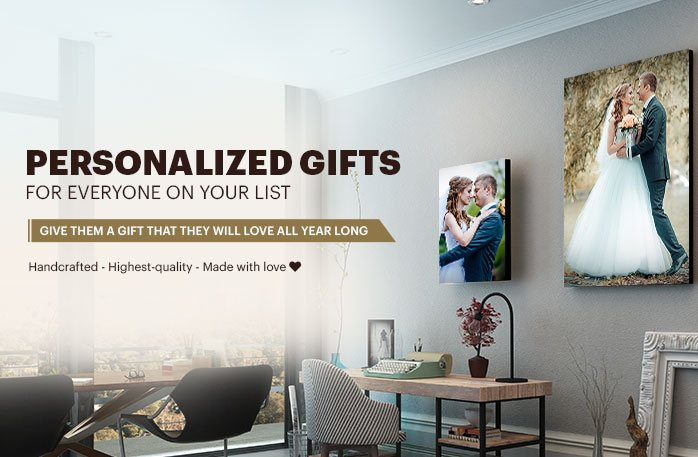Enter to Win Personalized Gifts from Canvas Champ