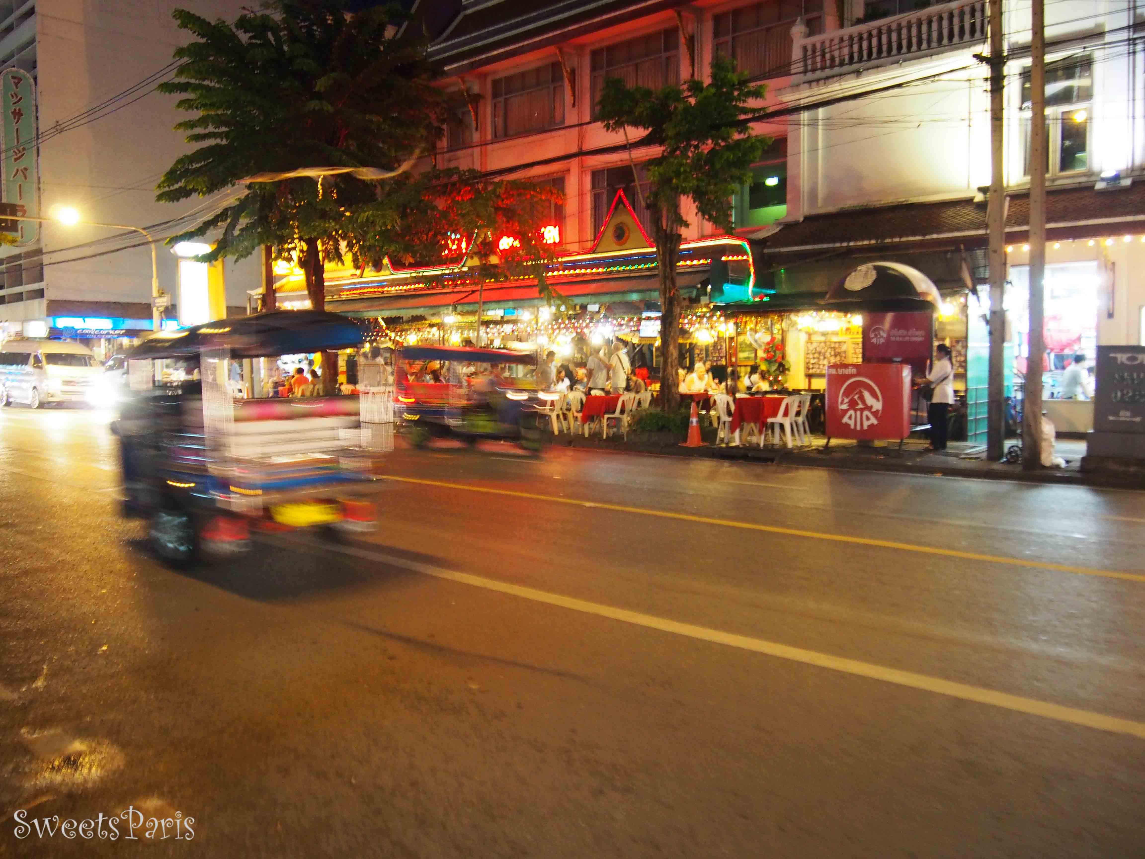 タイ・バンコクの夜遊び