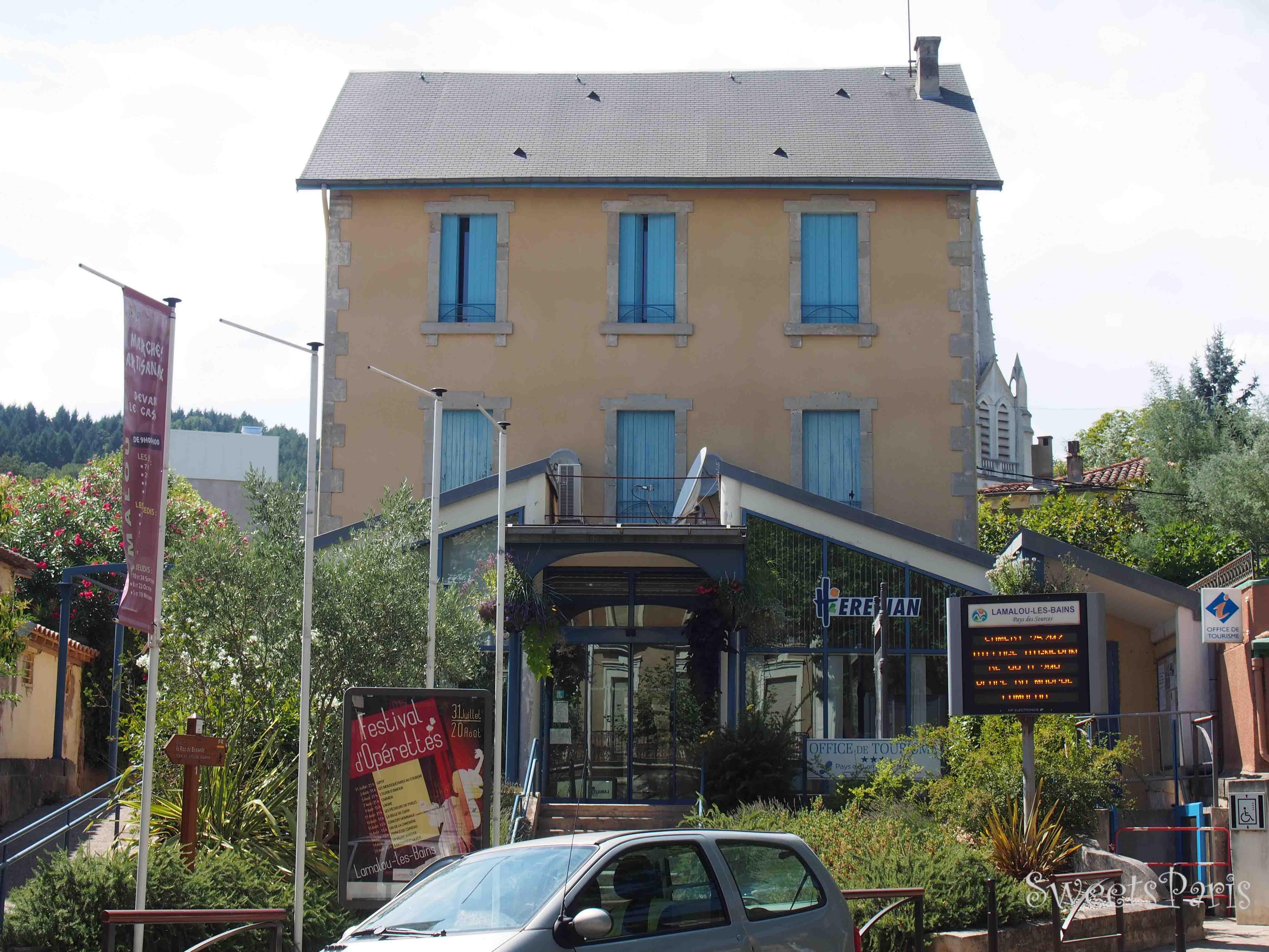 南フランスの小さな町を旅する Lamalou-les-bain