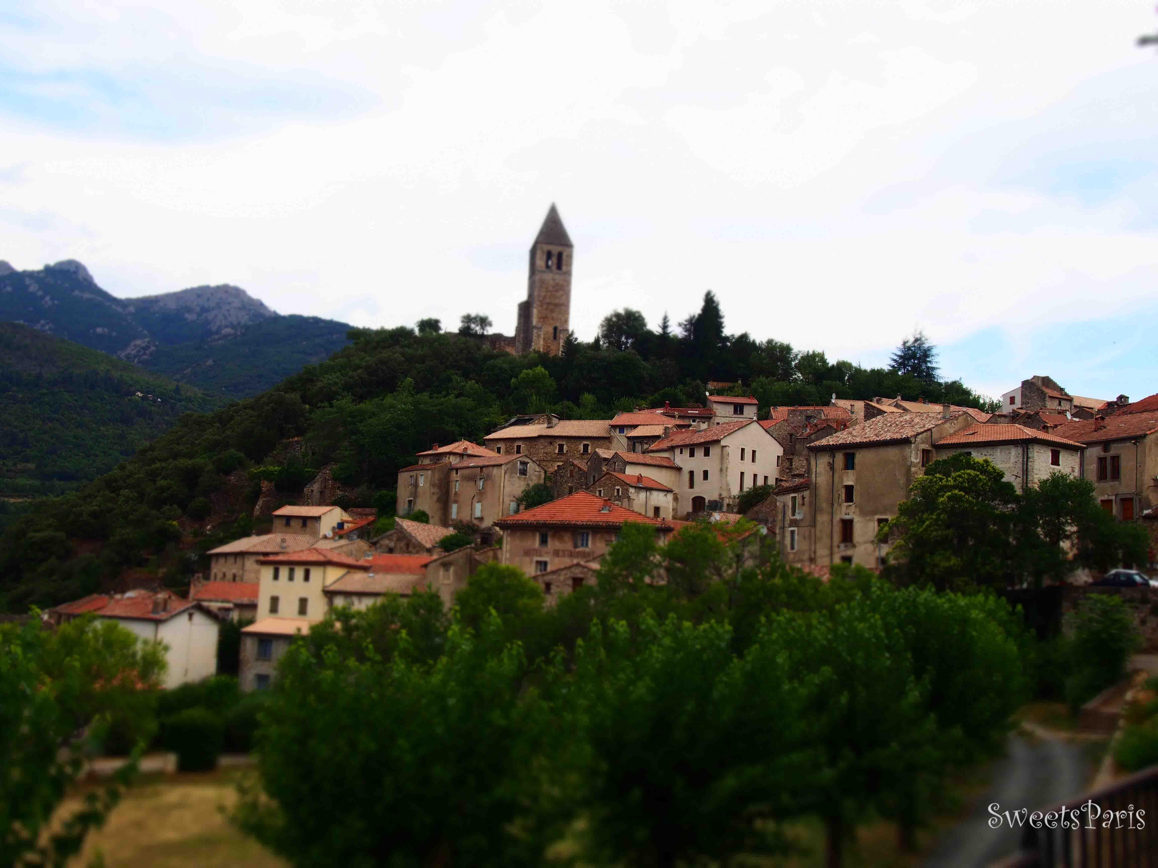 フランスの最も美しい村へ旅する*Olargues, Le plus beaux villages de France