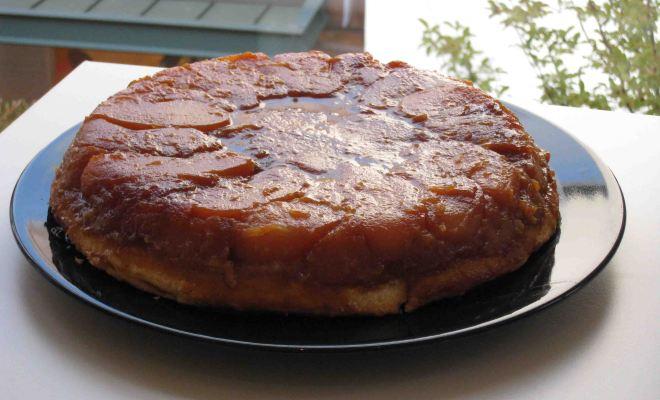 タルトタタンの作りかた・レシピ Tarte tatin