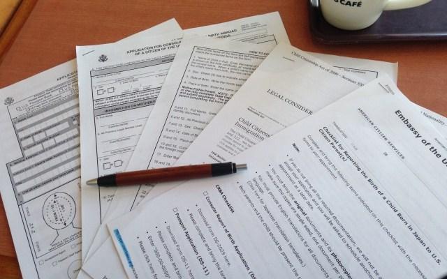 フランスビジタービザ申請書類