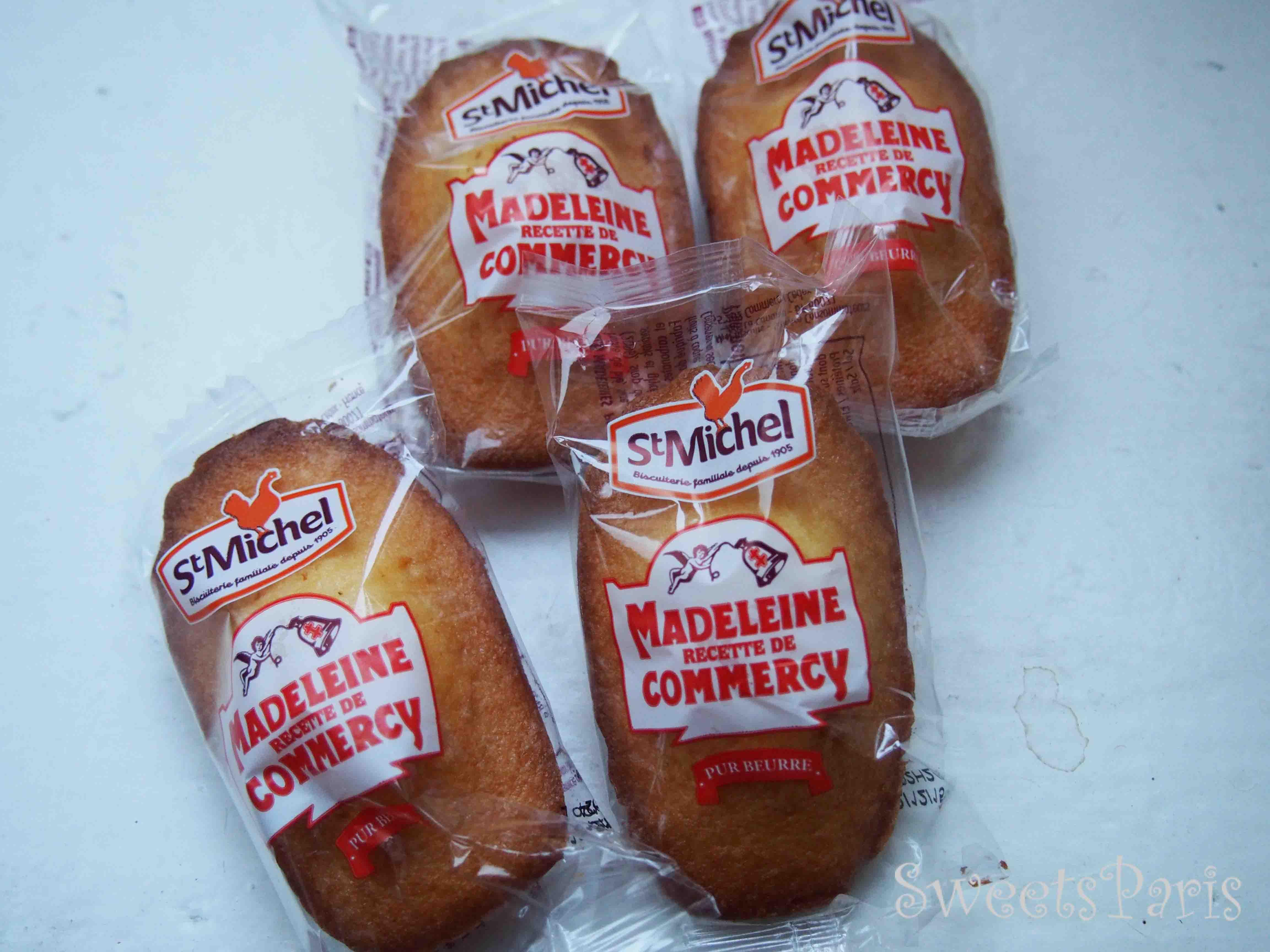 スーパーで買えるマドレーヌ Madeleine Commercy