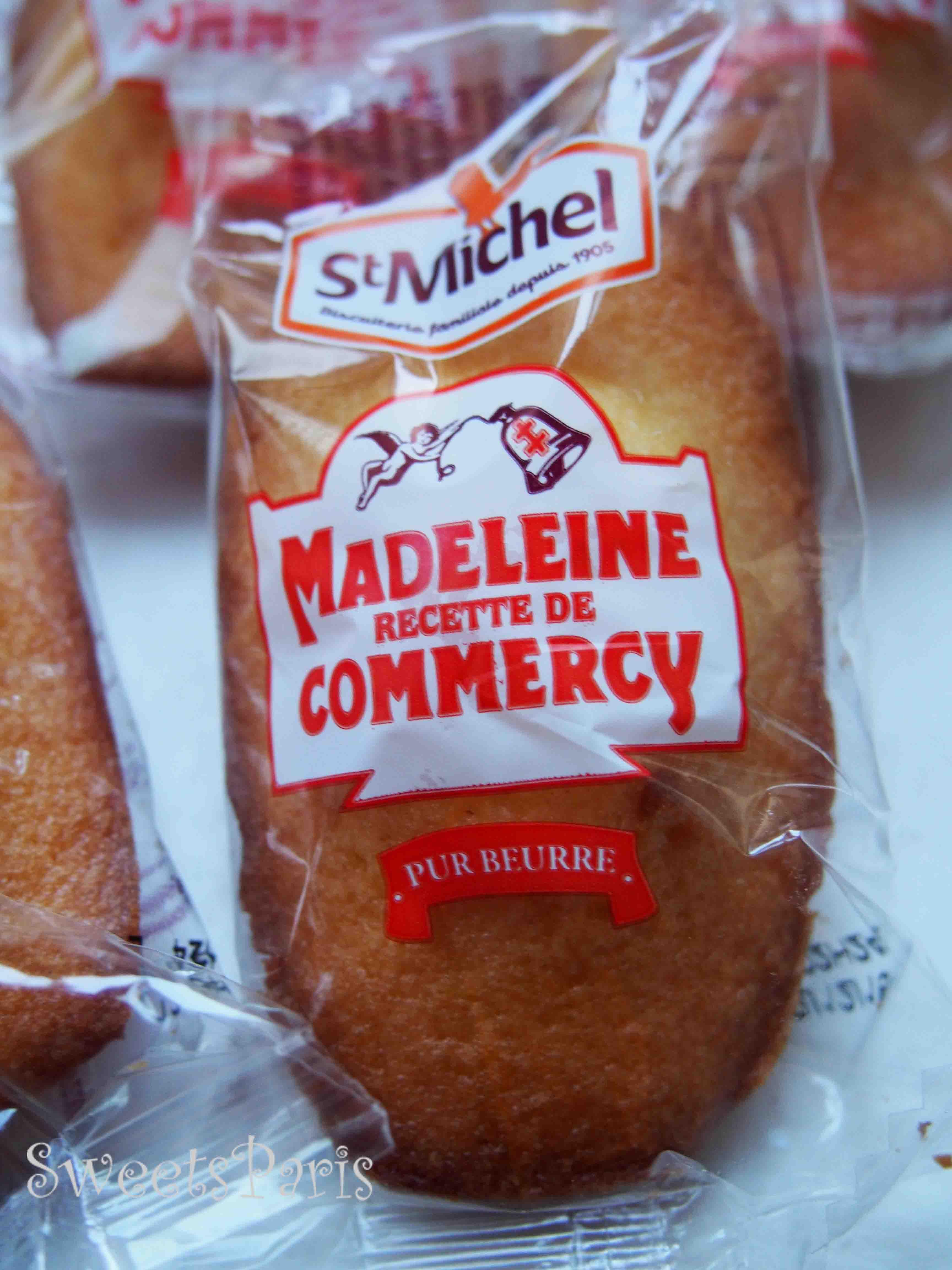 Madeleines recette de Commercy