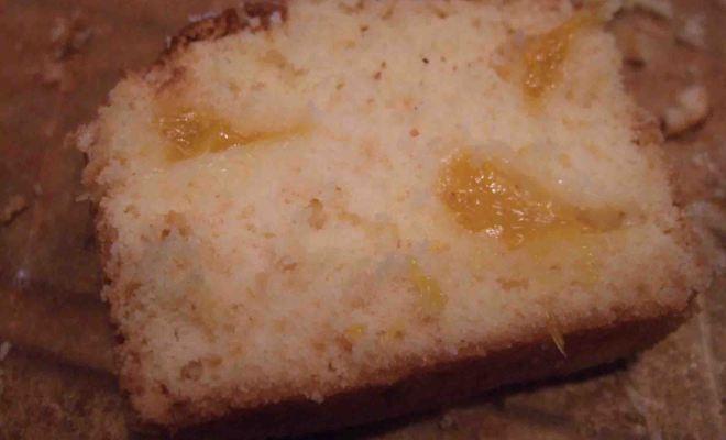 さわやかオレンジのパウンドケーキのレシピ*Cake à l'orange fraîche
