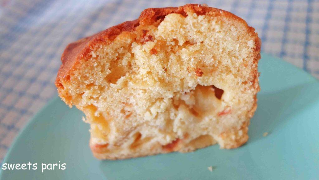 キャラメリゼしたりんごとトマトのパウンドケーキの作りかた