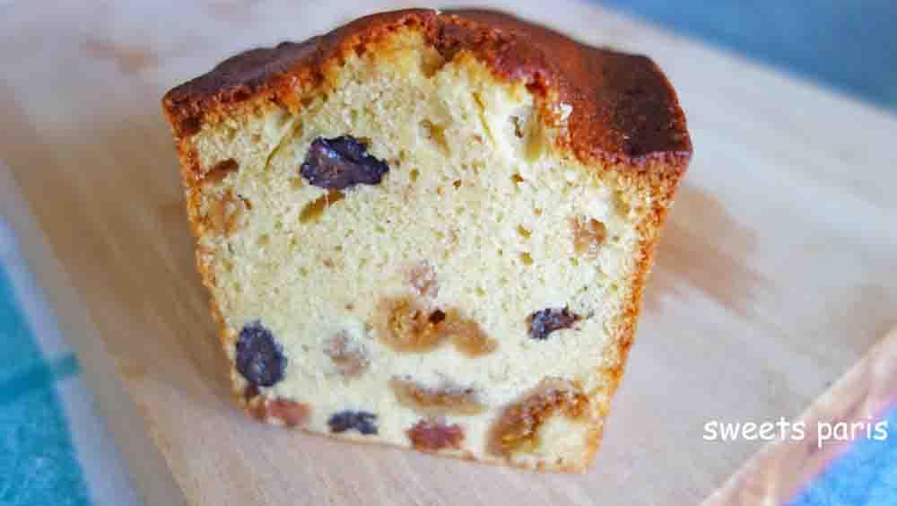 ブランデーのドライフルーツ漬けパウンドケーキのレシピ(1ヶ月目)