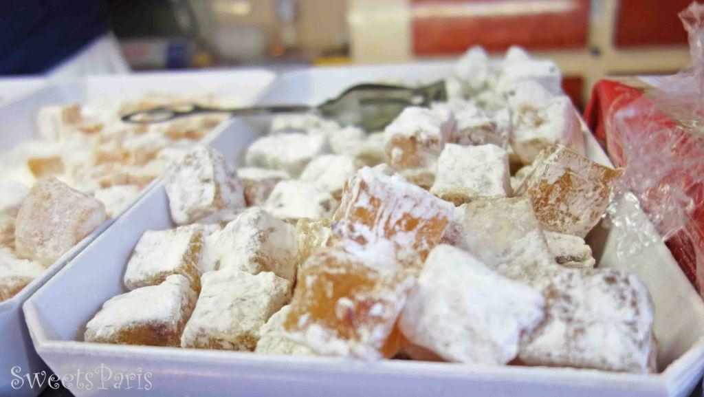 餅みたいな懐かしい味!アラブ菓子ルクムをフランスで見つけた|Loukoum