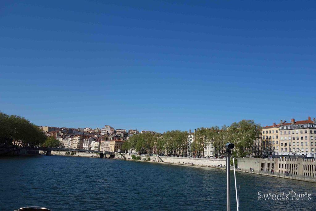 リヨンを船で散歩してみた!|ソーヌ河クルージング シティボート LYON CITY BOAT
