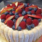 赤いフルーツのシャルロットの作りかた Charlotte aux fruits rouges