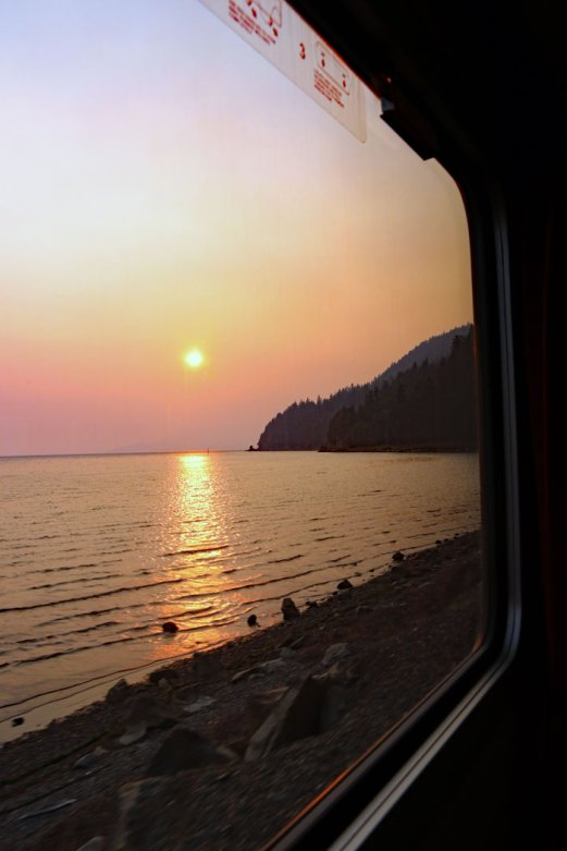 amtrak views.