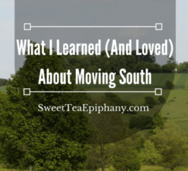 moving south