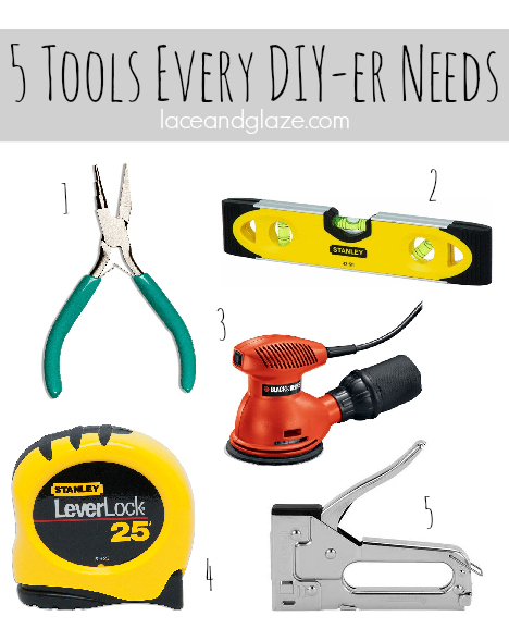 5 tools every do it yourselfer needs