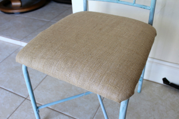 diy beach chic chair tutorial paint upholster