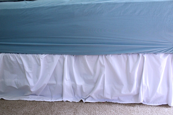 how to make a bed skirt 2