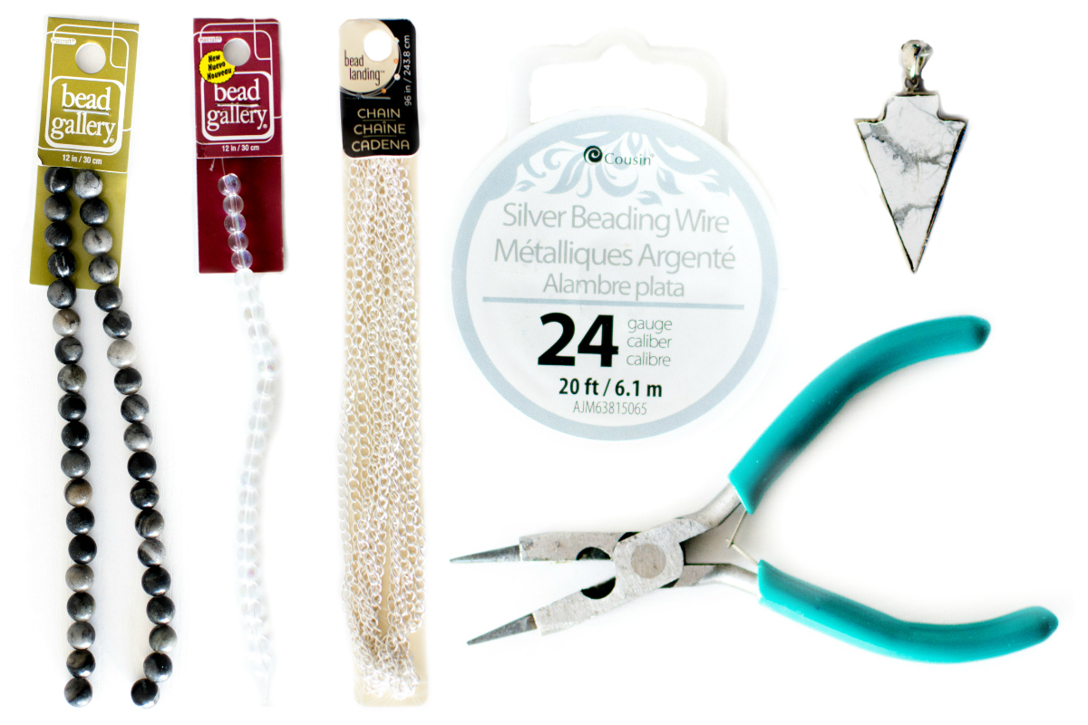 DIY Beaded Necklace Supplies