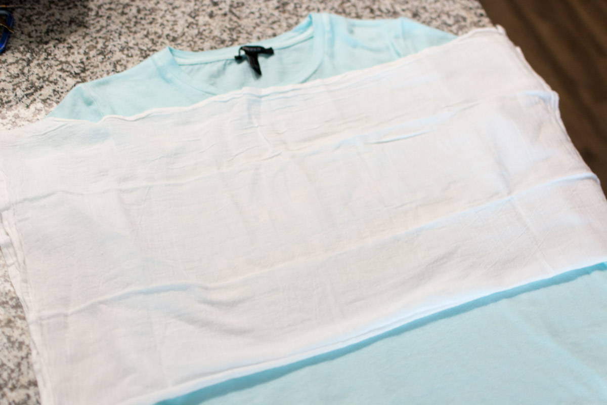 Tutorial for DIY Wildfox t-shirt, cloth over vinyl.