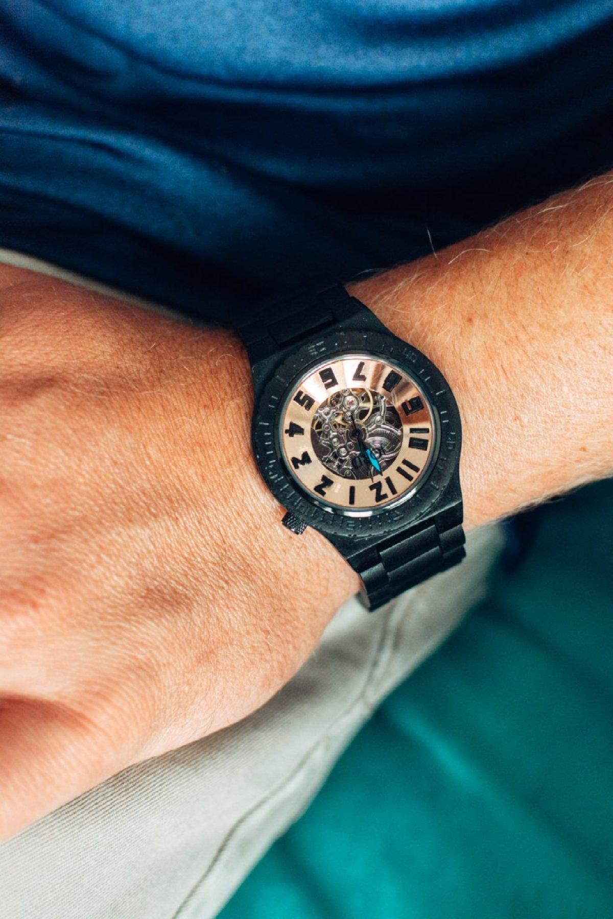 JORD Dover Ebony & Copper Watch