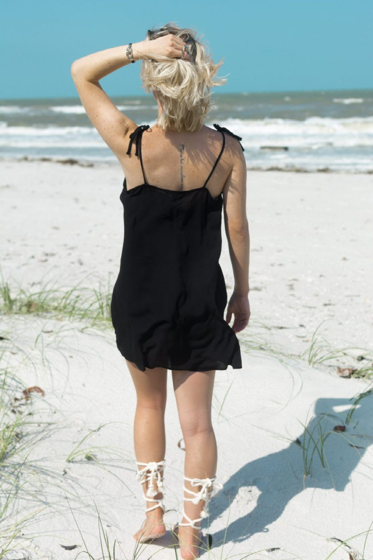 Forever 21 Black Dress worn by Jenny of Sweet Teal