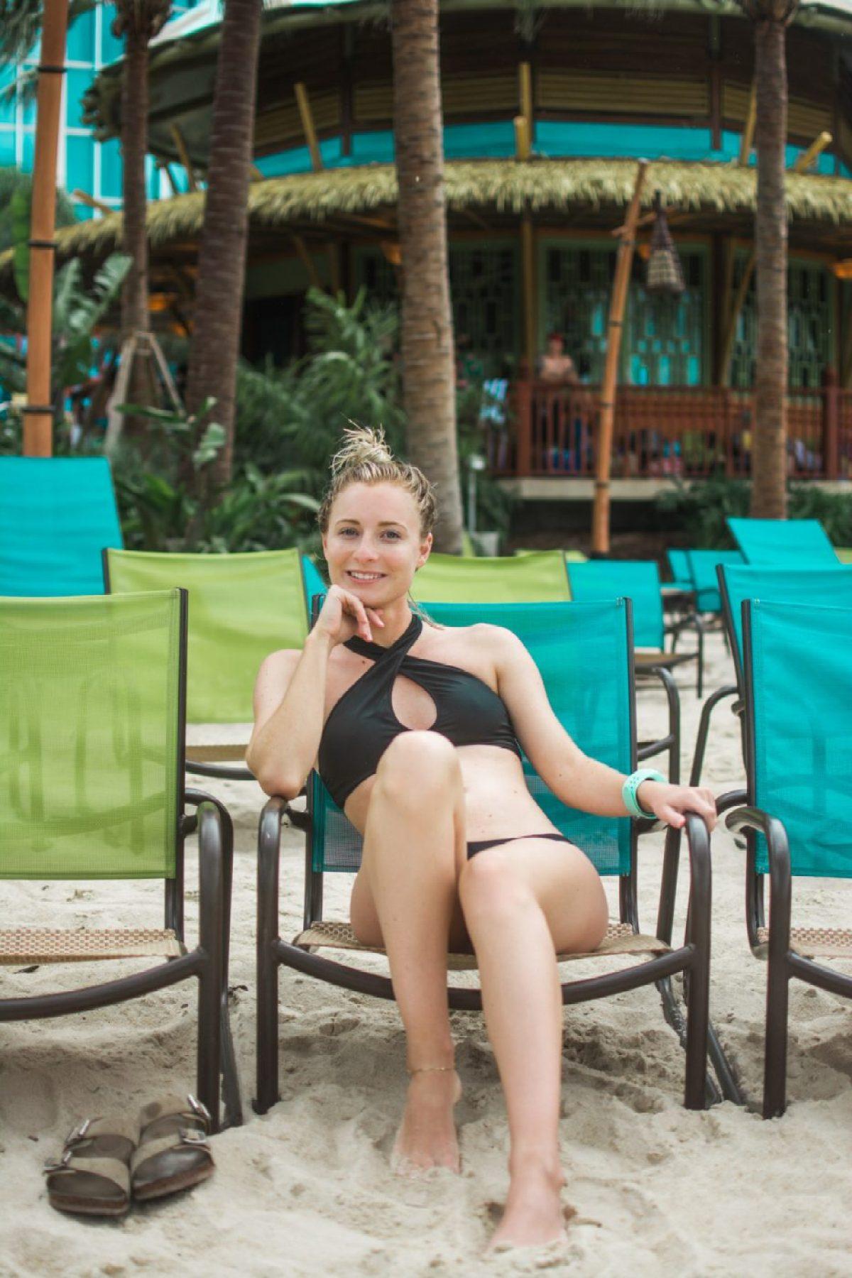 Jenny of Sweet Teal at Volcano Bay