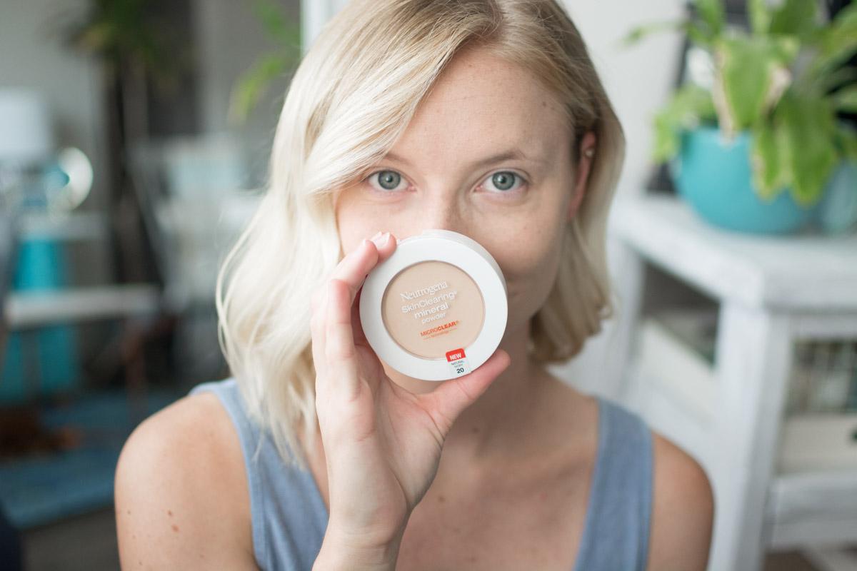 Neutrogena Back To School Makeup Tutorial - Powder - Sweet Teal