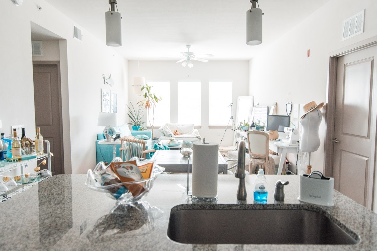 Apartment Tour - Dining Room & Kitchen by Sweet Teal