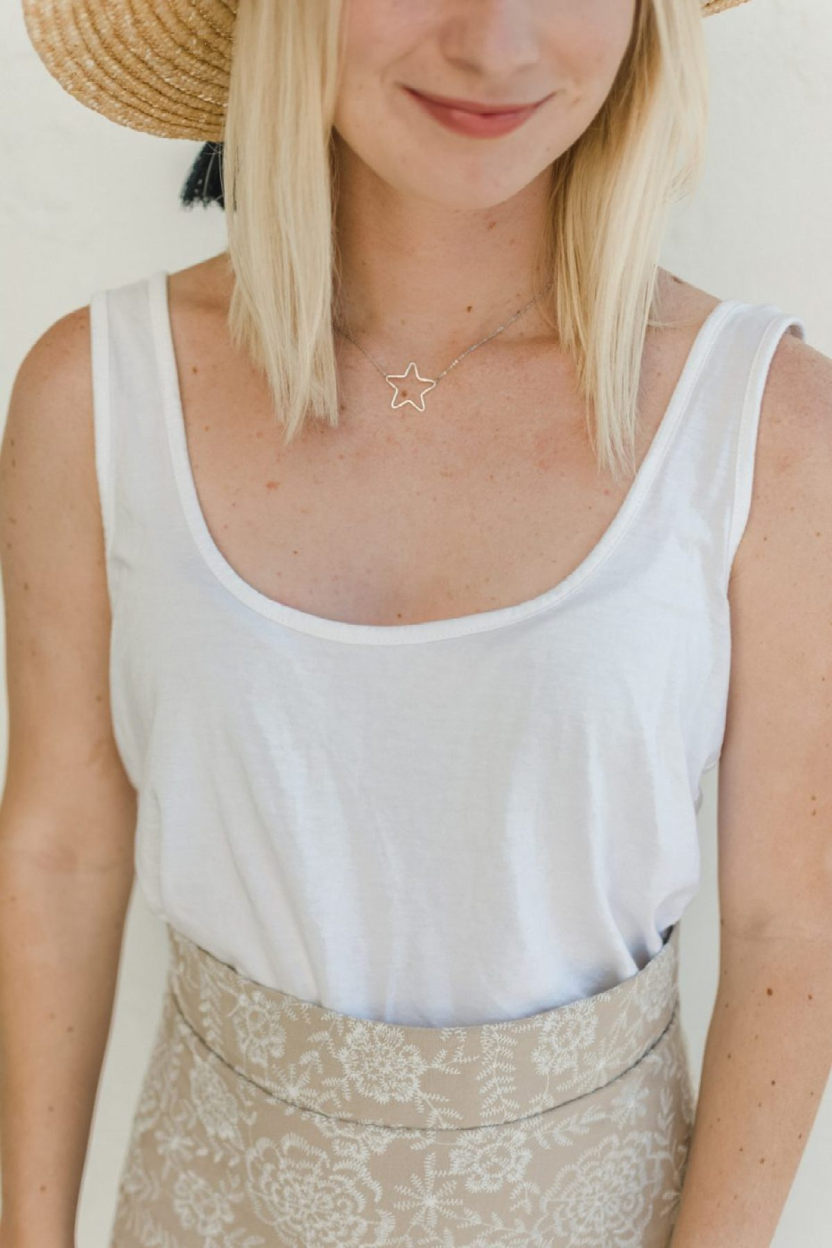 DIY For Less James Michelle Star Necklace - Sweet Teal