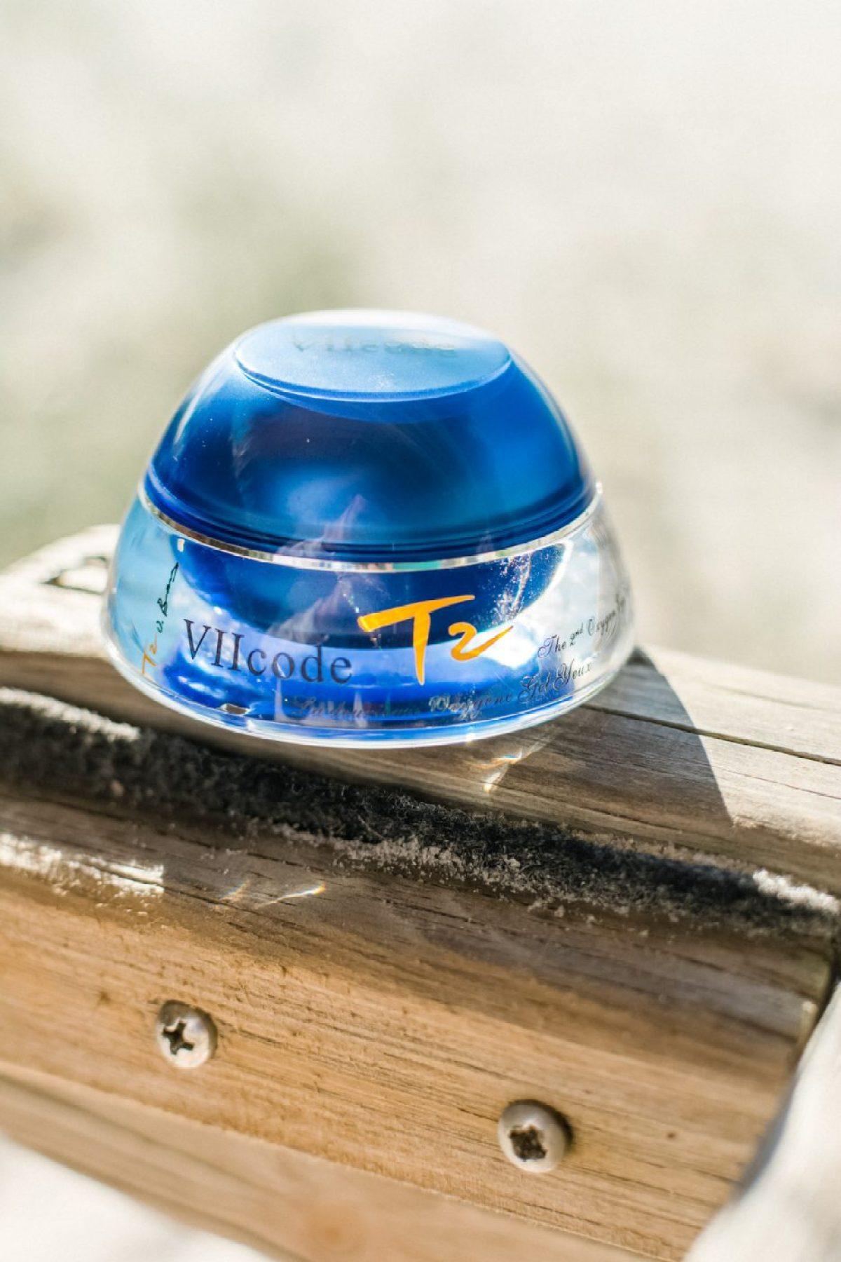 VIICODE T2 Oxygen Eye Cream Review - Sweet Teal