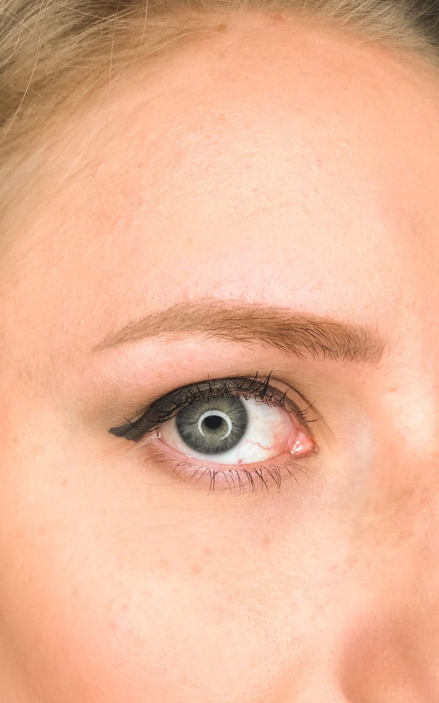 Microblading - Q&A - healed eyebrows