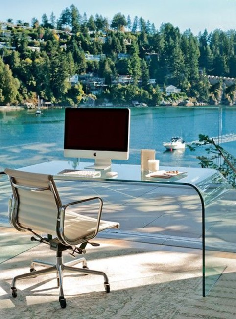 12 Dreamy Work Spaces - By The Lake