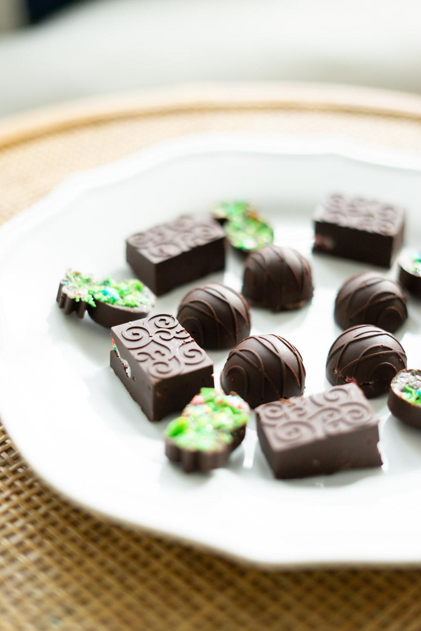 CBD Infused Chocolate Candies - Sweet Teal