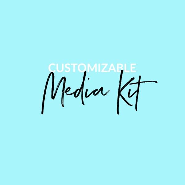 Customizable Media Kit by Jenny Bess