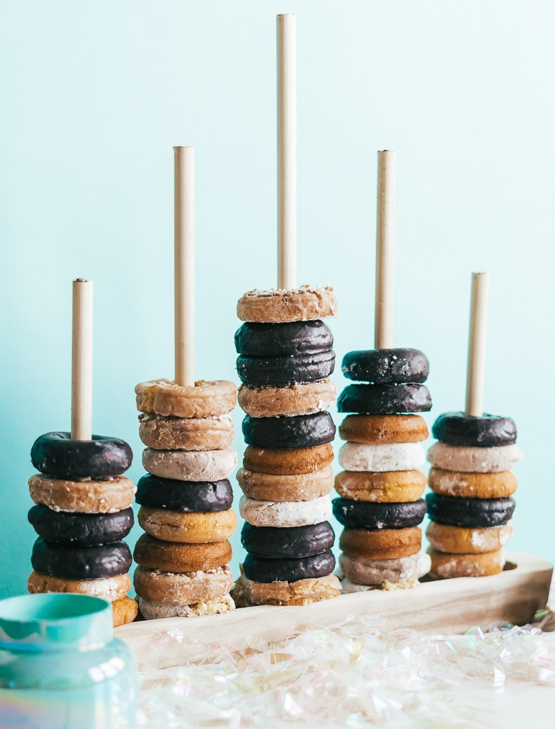How To Make A Donut Stand - Sweet Teal