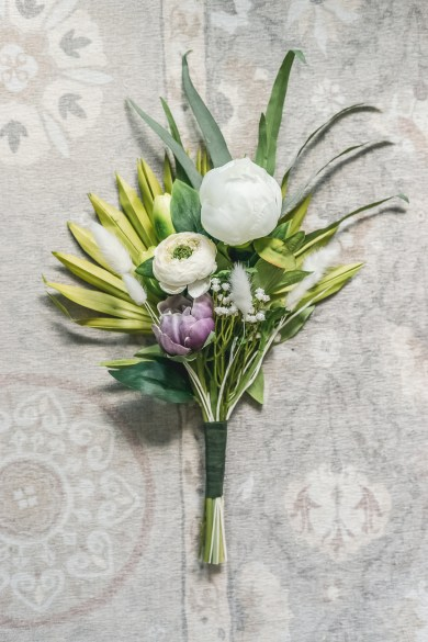 Afloral Faux Bridesmaid Bouquet