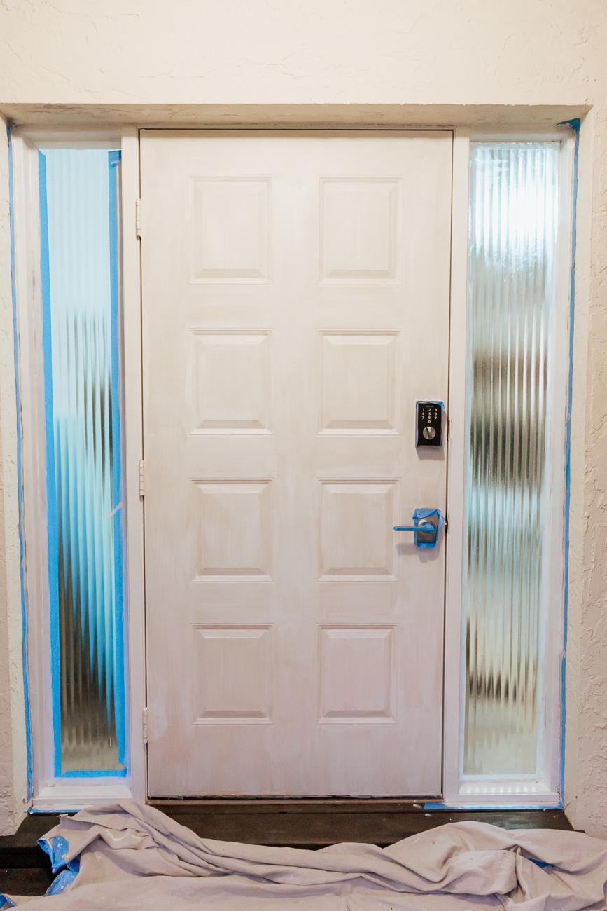 How To Paint A Front Door - Primer