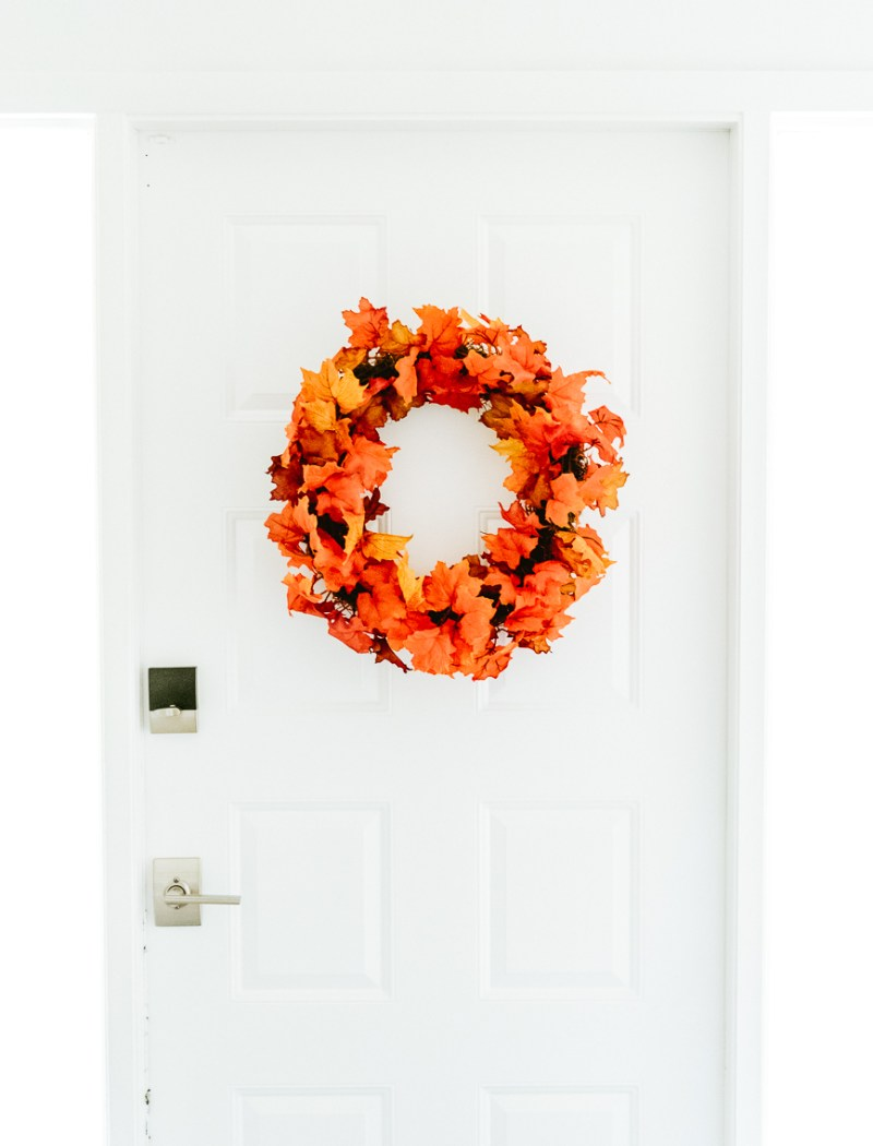 Make this fall wreath DIY
