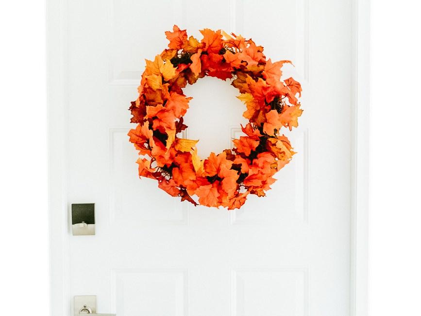 Make this fall wreath DIY