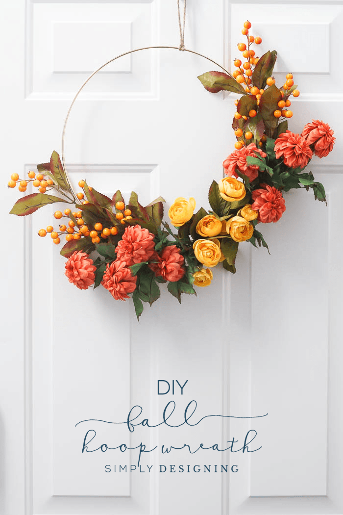 DIY Fall Wreath from Simply Designing