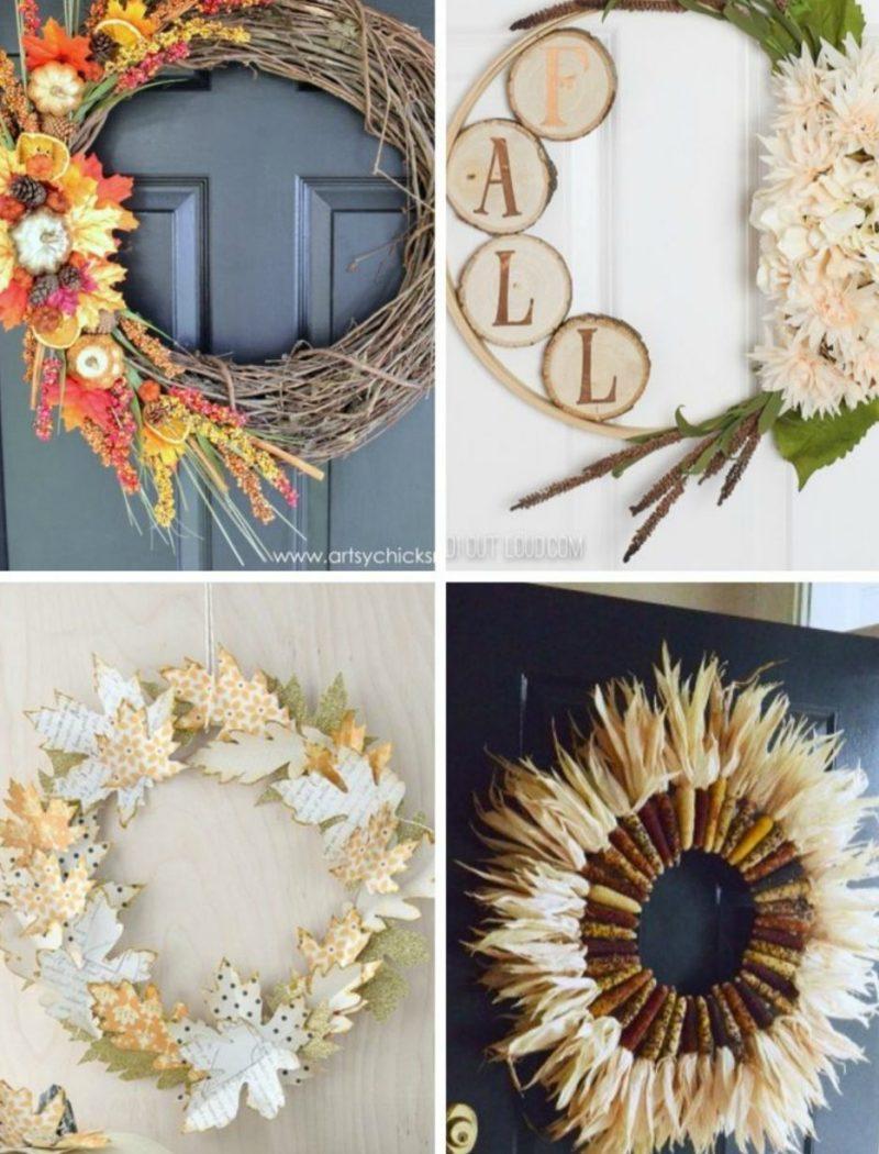 27 DIY Fall Wreaths - Ideas For Fall Wreaths