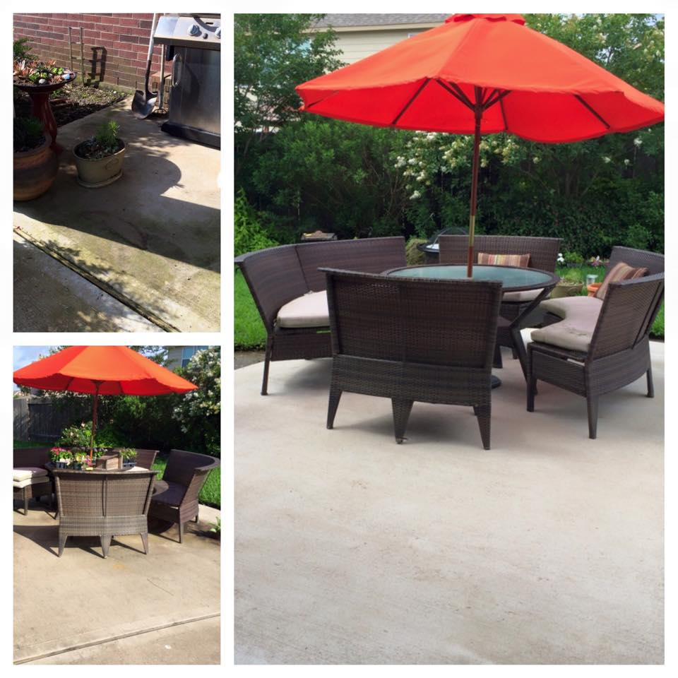 Patio Cleaning Katy Tx