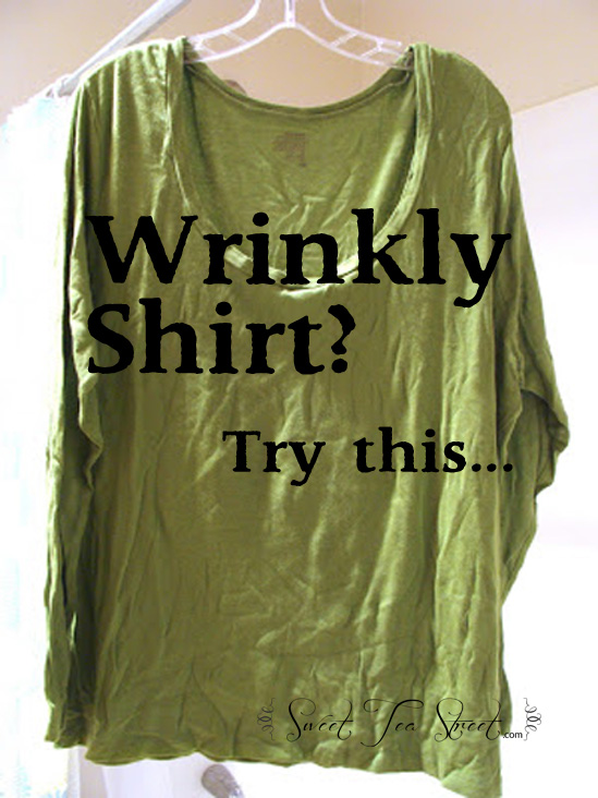 wrinkled shirt copy