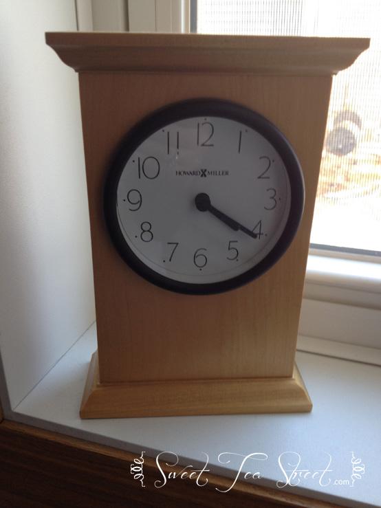 laundry clock